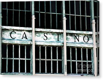 Asbury Park Casino Canvas Print - Casino by John Rizzuto