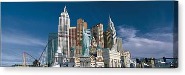 Casino Las Vegas Nv Canvas Print by Panoramic Images