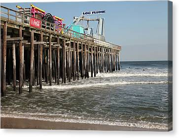 Casino Pier  Seaside  Nj Canvas Print by Neal Appel