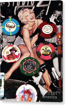 Casino Winnings Canvas Print by John Rizzuto
