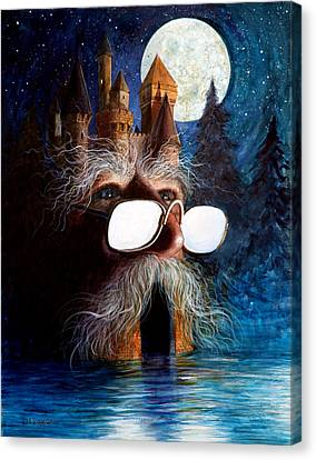 Fantasy Creatures Canvas Print - Casolgye by Frank Robert Dixon