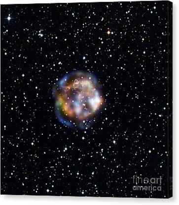 Cassiopeia A, Nustar X-ray Image Canvas Print by Nasa