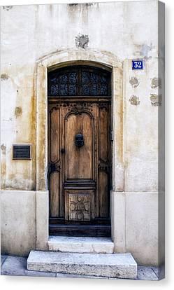 Cassis Door Number 32 Canvas Print