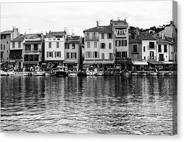 Cassis - French Seaside Town Canvas Print by Georgia Fowler
