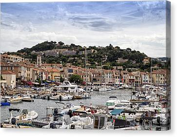 Cassis - South Of France Canvas Print by Georgia Fowler