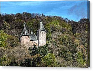 Castell Coch Cardiff Canvas Print by Steve Purnell