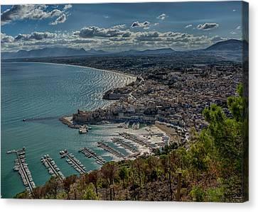 Castellammare Del Golfo Canvas Print by Alan Toepfer