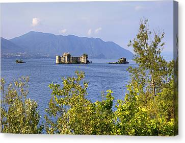 Castelli Di Cannero Canvas Print