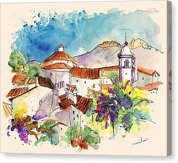 Castelo De Vide In Portugal 01 Canvas Print by Miki De Goodaboom