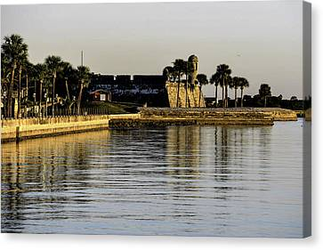 Canvas Print featuring the photograph Castillo De San Marcos by Anthony Baatz