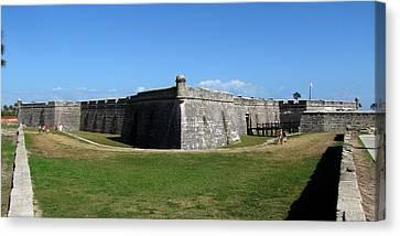 Castillo De San Marcos Canvas Print by Keith Stokes