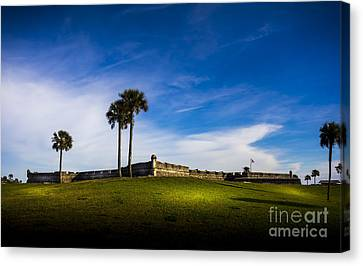 Castillo De San Marcos Canvas Print by Marvin Spates