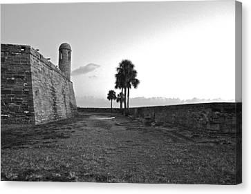 Castillo De San Marcos View 2 Canvas Print