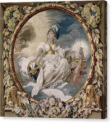 Castillo, Jos� Del 1737-1793. Allegory Canvas Print by Everett