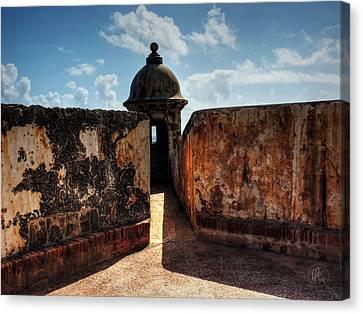 Castillo San Felipe Canvas Print - Castillo San Felipe Del Morro 005 by Lance Vaughn