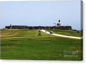 Castillo San Felipe Del Morro Canvas Print by John Rizzuto