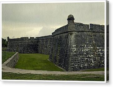 Castillo San Marcos 5 Canvas Print by Laurie Perry