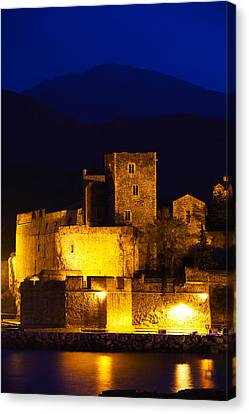 Castle At The Waterfront, Chateau Canvas Print by Panoramic Images