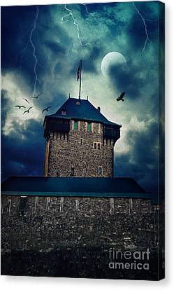 Castle Burg Canvas Print by Angela Doelling AD DESIGN Photo and PhotoArt