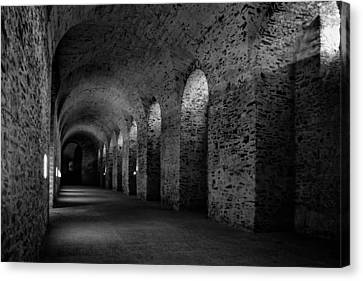 Castle Cellar Canvas Print by Karl Greeson