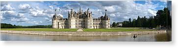 Castle, Chateau De Chambord Canvas Print by Panoramic Images