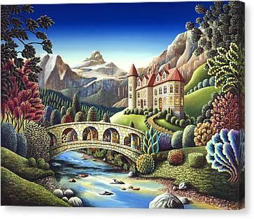 Castle Creek Canvas Print