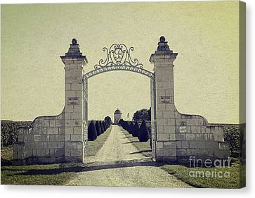 Castle Gateway Of Ancient Times Canvas Print by Heiko Koehrer-Wagner