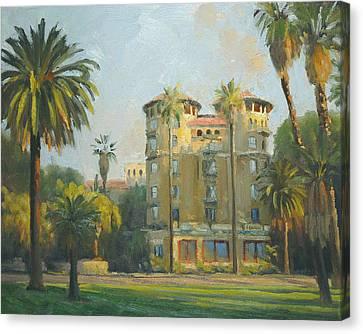 Castle Green - Pasadena Canvas Print