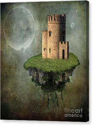 Cliffs Of Moher Canvas Print - Castle In The Sky by Juli Scalzi