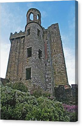 Castle In The Sky Canvas Print by Kathleen Scanlan