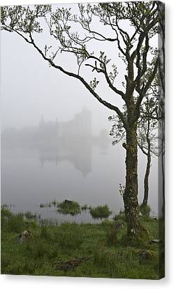 Castle Kilchurn Tree Canvas Print