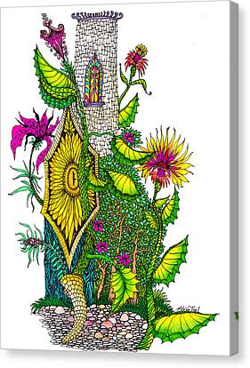 Castle Lock Canvas Print