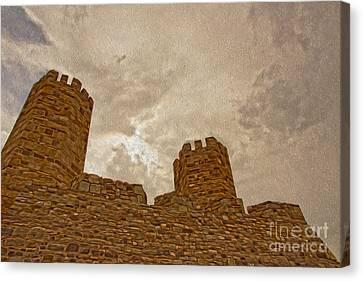 Castle  Canvas Print by Nur Roy