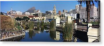 Castle Of Good Hope With A View Canvas Print by Panoramic Images