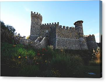 Castle Of Love Canvas Print by Laurie Search