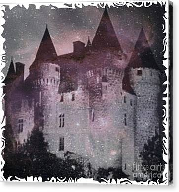 Castle Of Terror Canvas Print by PainterArtist FIN