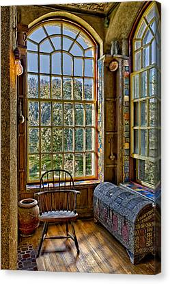 Castle Office Canvas Print by Susan Candelario