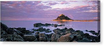 Castle On Top Of A Hill, St Michaels Canvas Print by Panoramic Images
