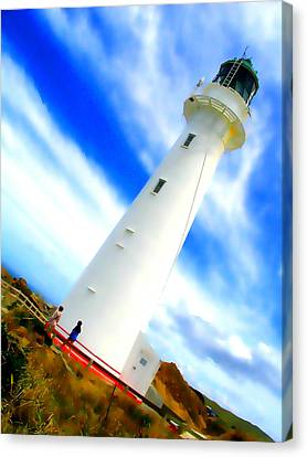 Castle Point Lighthouse Canvas Print