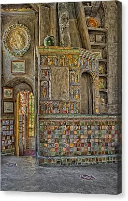 Castle Salon Canvas Print by Susan Candelario