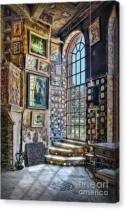 Byzantine Canvas Print - Castle Saloon by Susan Candelario