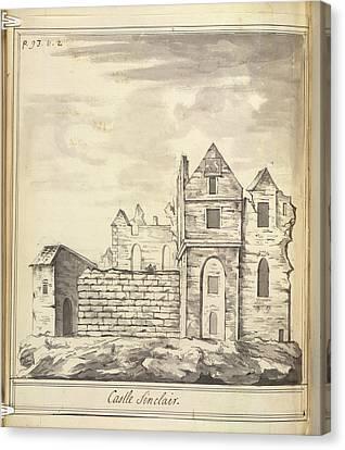 Castle Sinclair Canvas Print