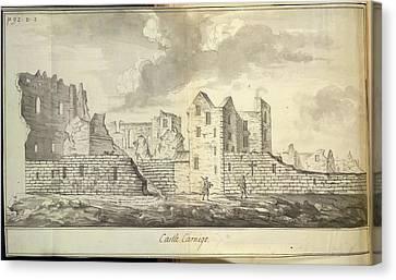 Castle Sinclair Girnigo Canvas Print