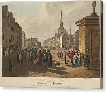 Castle Street Canvas Print by British Library