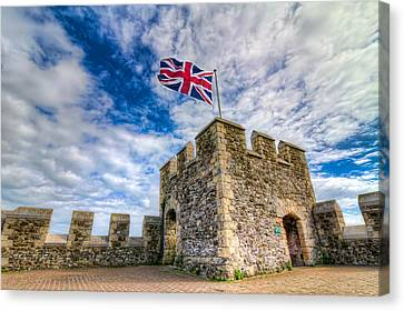 Canvas Print featuring the photograph Castle Top by Tim Stanley
