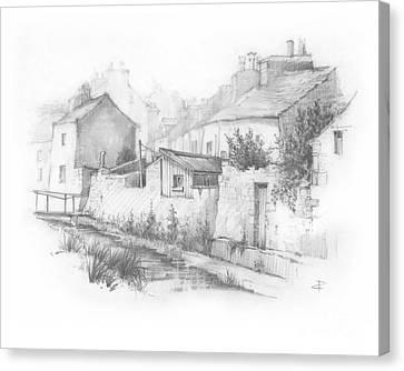 Castletown Sketch Canvas Print