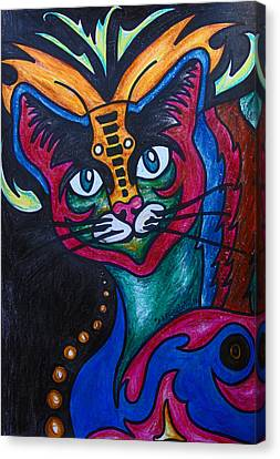 Cat 2 Canvas Print