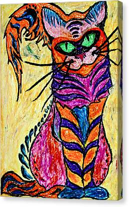 Cat 3 Canvas Print