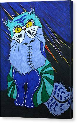 Cat 4 Canvas Print