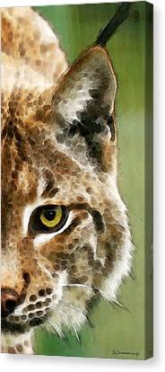 Cat Art - Lynx 2 Canvas Print